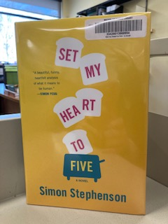 I've been reading this outstanding book in our library lunchroom for weeks & laughed so much it's been a health risk. Finished it today, w/real tears in such a good way thanks to @TheSimonBot.