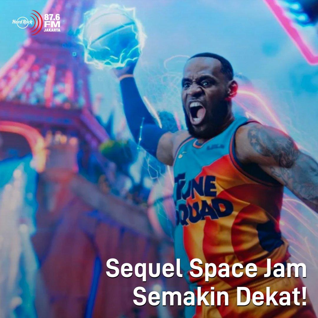 #HRFMNews Makin ga sabar untuk nonton Space Jam versi LeBron James nih!  Sequel Space Jam yang diberi judul Space Jam: A New Legacy ini resmi merilis cuplikan gambar-gambarnya melalui Entertainment Weekly. Lihat fotonya aja seru, gimana nontonnya bulan Juli nanti.