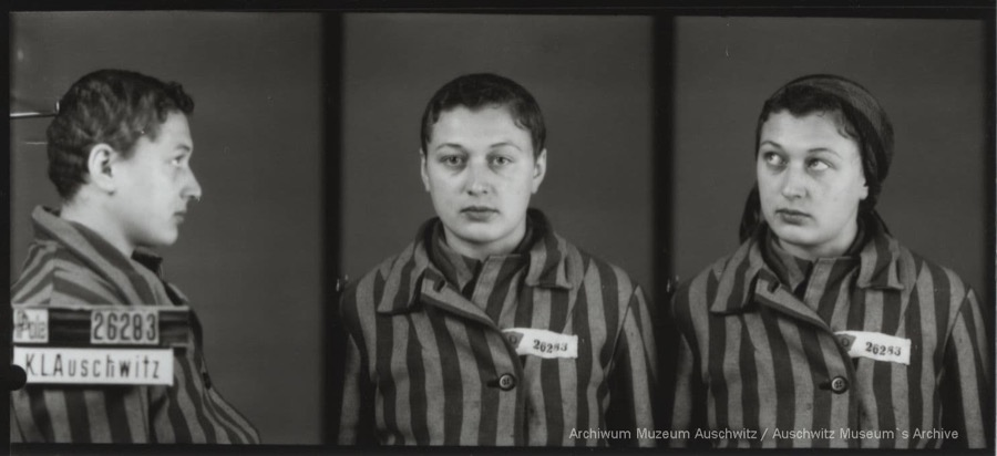7 March 1917 | A Polish woman, Franciszka Studzińska, was born in Krakow. A student.   In #Auschwitz from 1 December 1942. No. 26283 She perished in the camp on 4 April 1943.