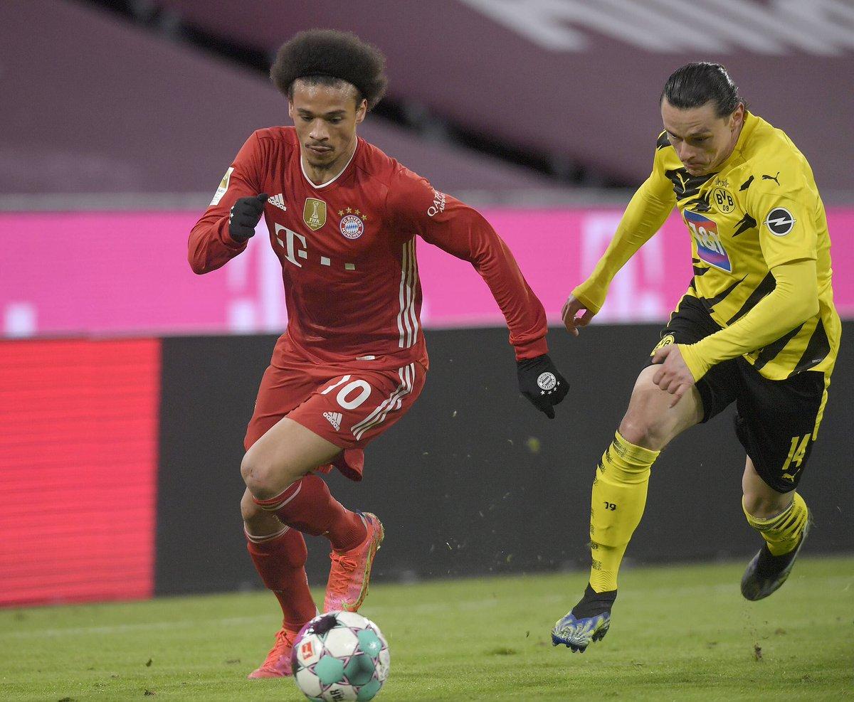 The 3 points stay in Munich! #inSané @FCBayern