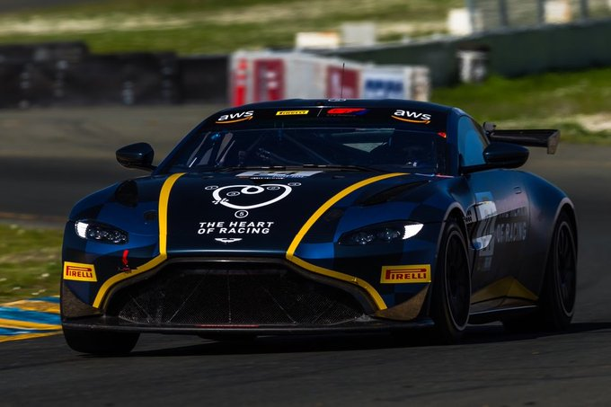 First race of the @gt_america_…