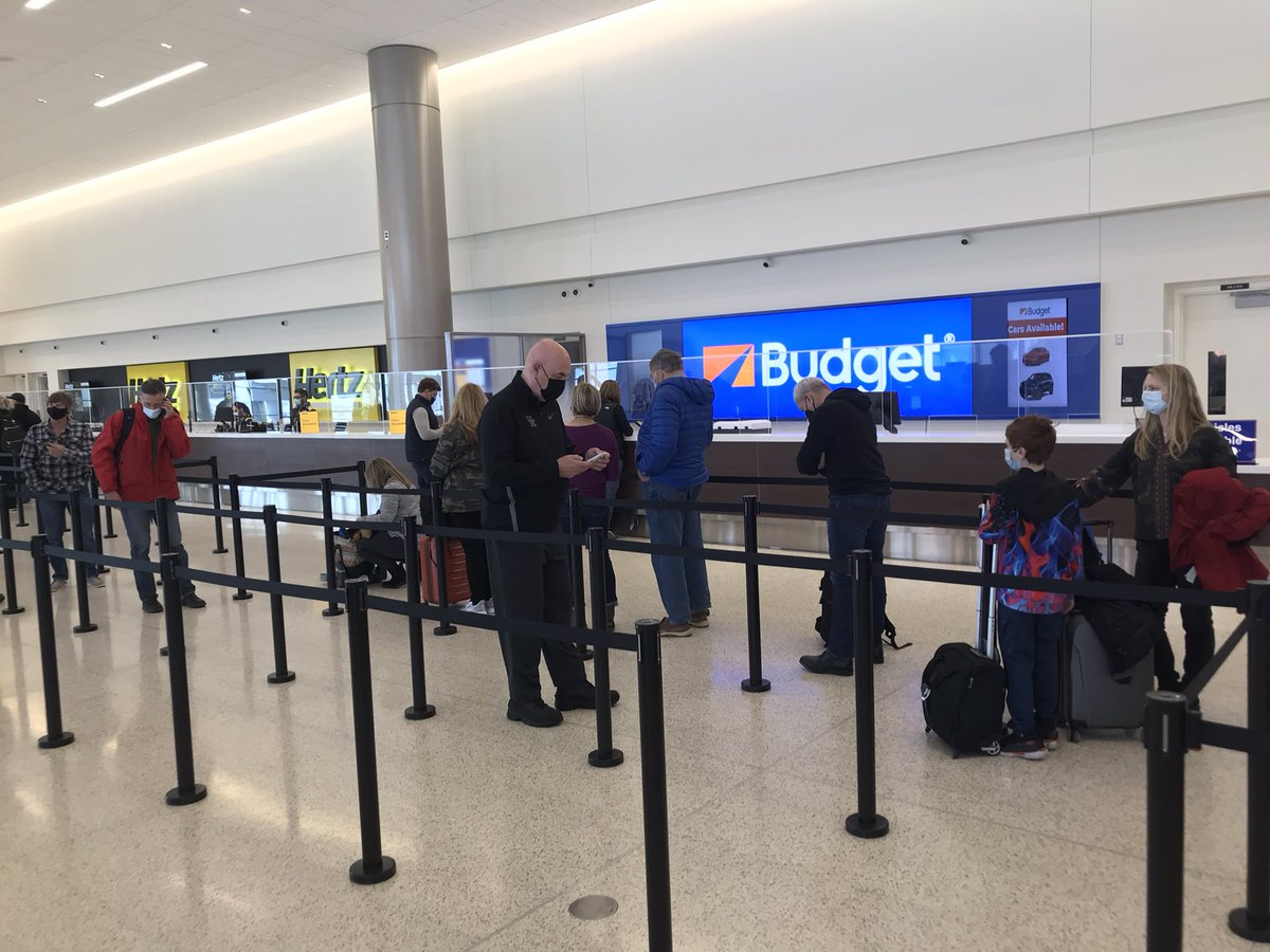 """Book your rental car with @Budget 's """"Fast Break""""service, and in just 45 minutes, we'll begrudgingly throw you your keys without making eye contact."""