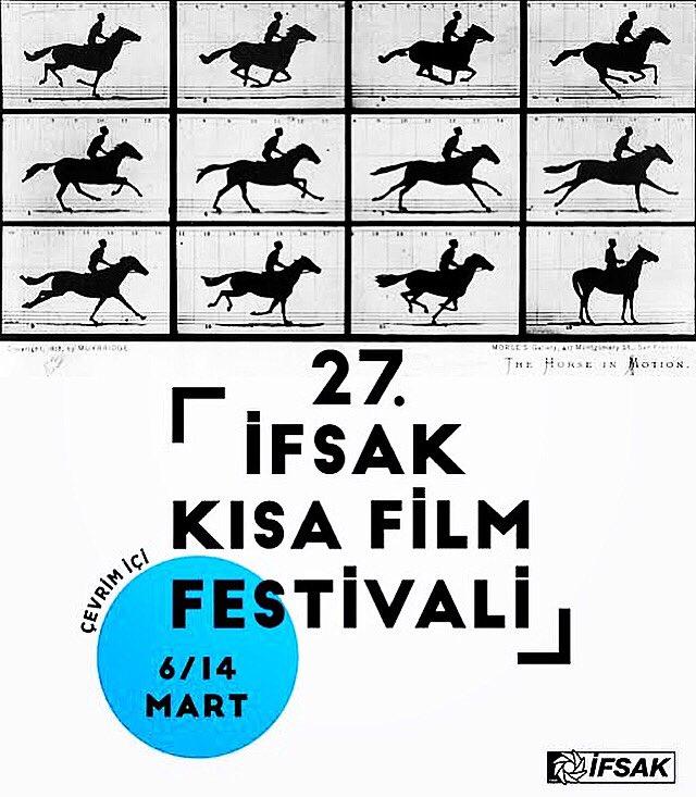 27. İFSAK Kısa Film Festivali 6-14 Mart arasında. Kurmaca,belgesel,deneysel ve canlandırma başlıkları altında 75 film! Zaman kısa,film çok; işimiz zor!Meraklılarına iyi seyirler! #film #movie #pelicula #kısafilm #kısa #shortfilm #short #İfsak #İfsakKısaFilmFestivali #İfsakKısalar