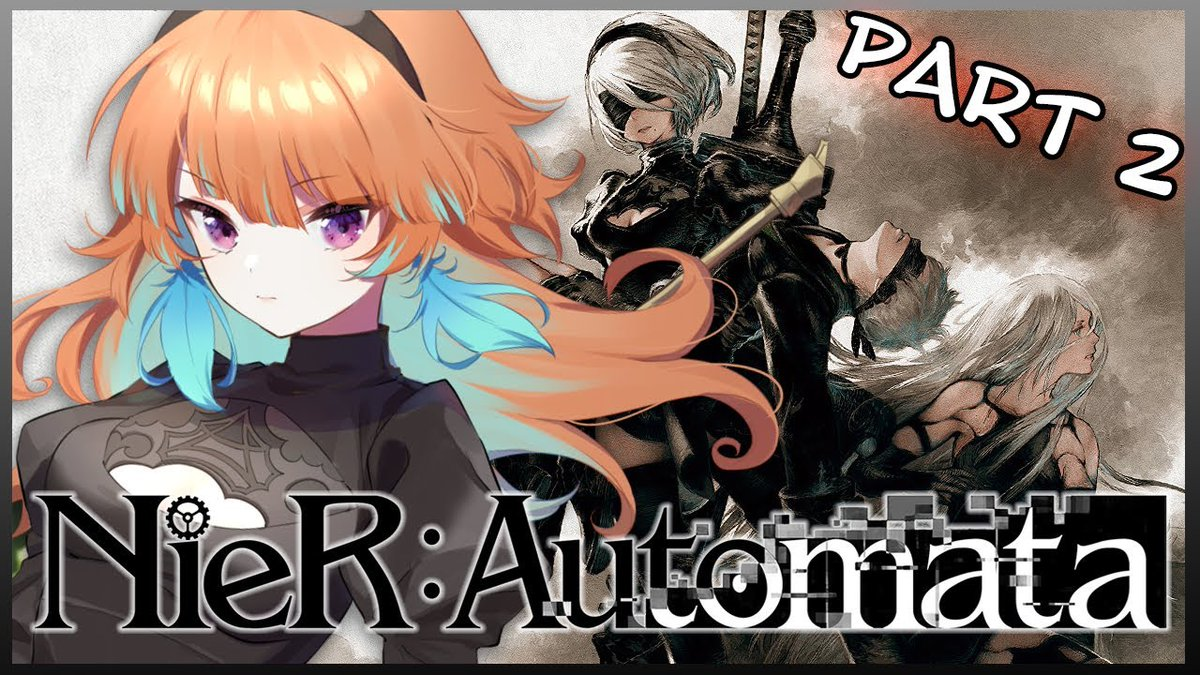 next stream → 【NieR:Automata】THIS CANNOT CONTINUE #kfp #キアライブ】 ...but we are continuing. Its been a while! Excited to see more of the NieR world! このままじゃダメだと・・・でもやるのだ!久々にやるの楽しみ! youtu.be/TINGBNW0mEo