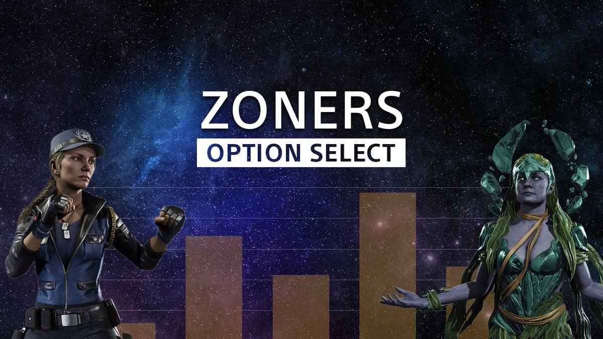 We've polled the fighting game community on popular (or controversial 👀) strategies for insights on becoming the ultimate opponent.   📊 Welcome to Option Select: