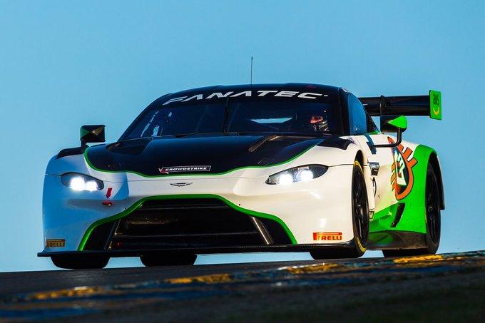 The Aston Martin Vantage GT3…