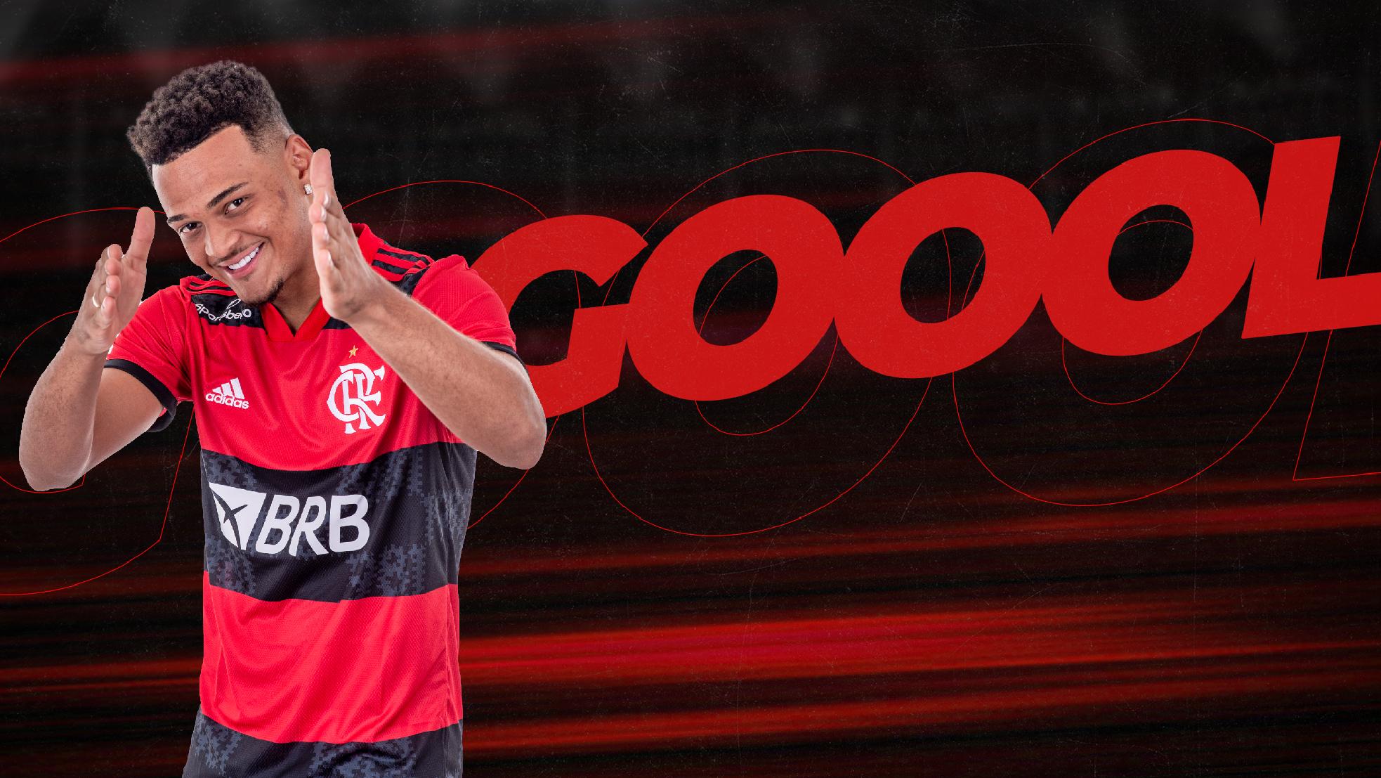 GOOOOOOOOOOOOOOL! Muniz marca mais um para o Flamengo