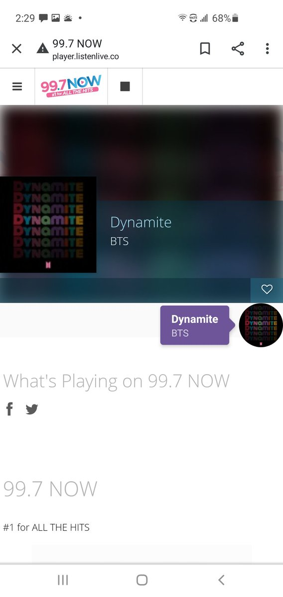 @MaryDiaz997 Another @BTS_twt spin Mary! Soooooo totally #Dynamite. Taking care of #BTSARMY with great music on @997now. Thank you! 💜 @BTSonShazam @BTSxCalifornia