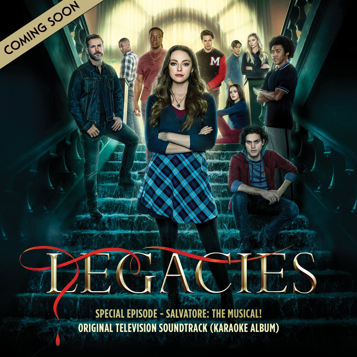 Oh hey, #Legacies fans who loved Salvatore: The Musical! Look what we're cooking up for you! We've loved seeing the videos you've made of the songs — hopefully this will make it easier for you.