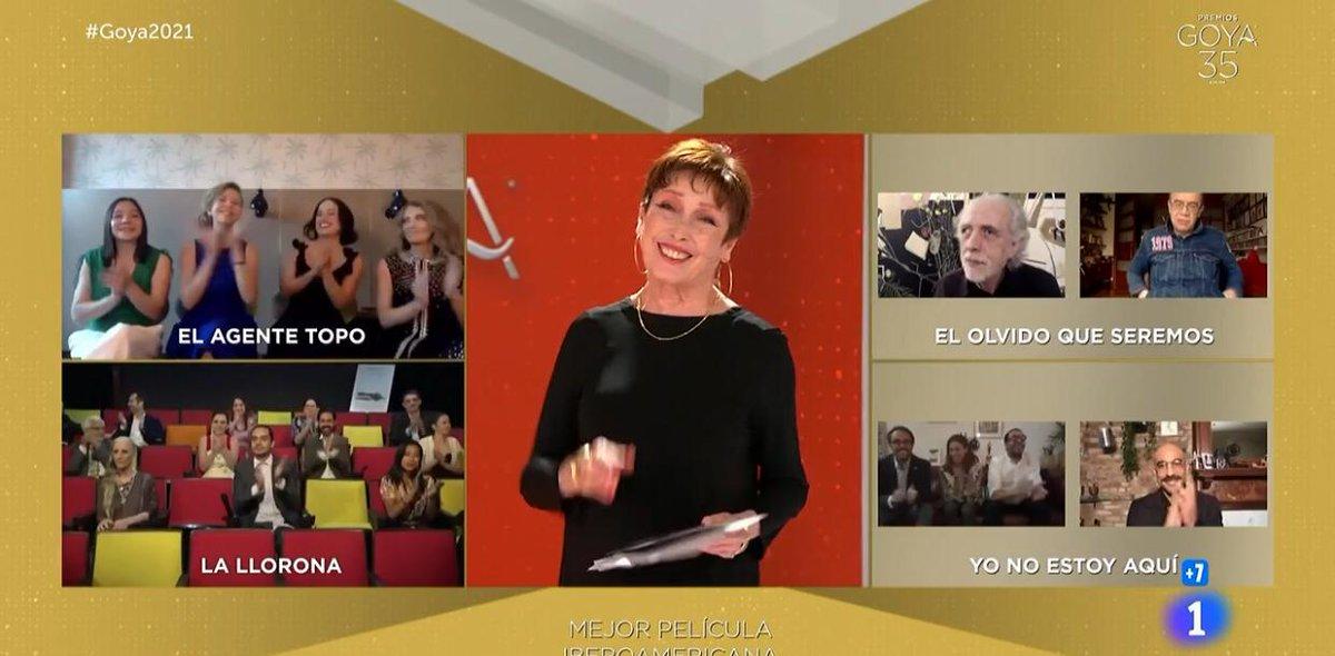 """test Twitter Media - Vía AP se conoce que la película Colombiana, """"El olvido que seremos"""", gana el premio #Goya2021, en esta categoría estaba nominada La Llorona, de Jayro Bustamante.Foto: Rtve https://t.co/xhOJn6e6to"""