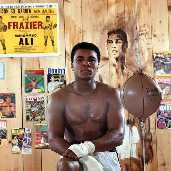 """Don't wait for the world to recognize your greatness. Live it and let the world catch up with you."" - Ali  #ThinkBigSundayWithMarsha @marshawright  #success #inspiration #leadership #MuhammadAli"