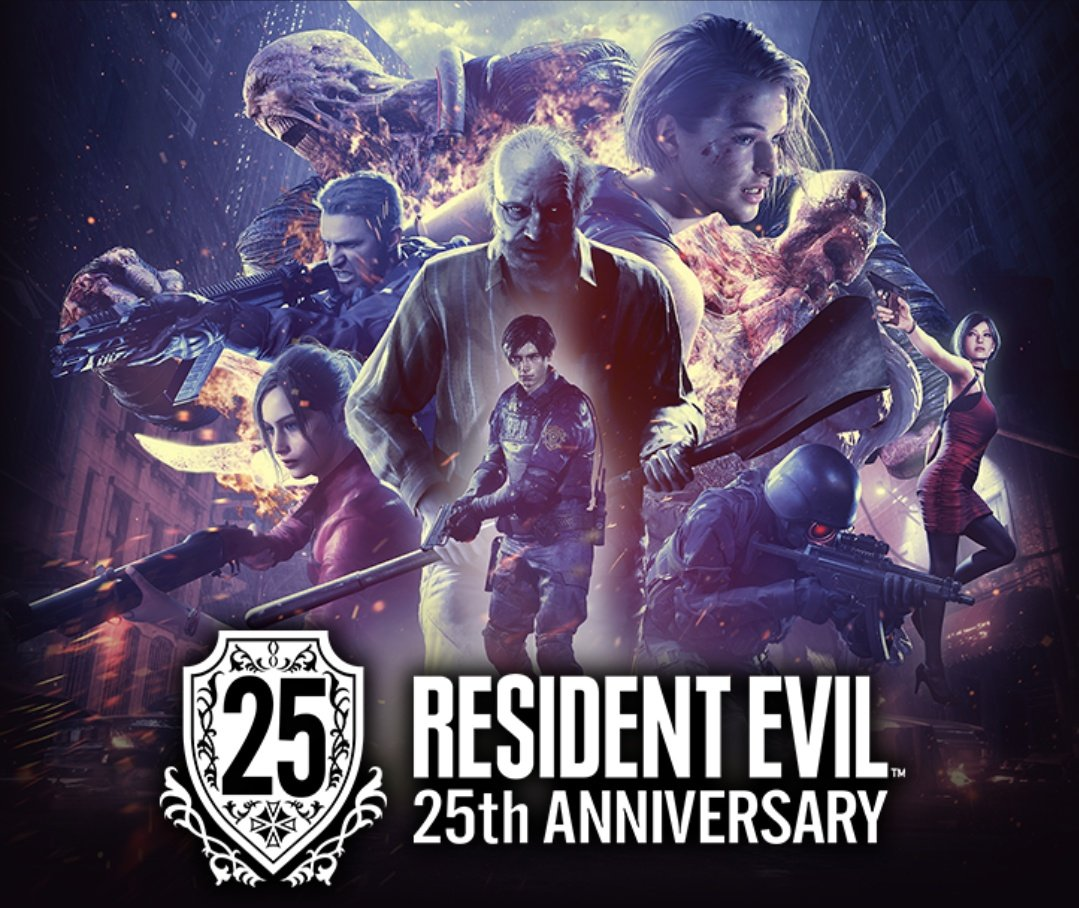 16 days till March 22nd 2021  The 25th Anniversary of Resident Evil's release.  Also, potentially a date for the next digital event from Capcom, next demo announcement and/or new Resident Evil project/s.  #REBHFun #ResidentEvilVillage #REVillage #RE25