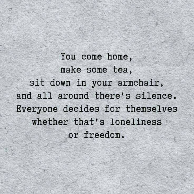 """I love this 😊   """"I'm just learning that. My partner who passed away always loved spending time alone, I hated it. I asked him once why he liked spending time alone and he said 'I'm not spending time alone Greg, I'm spending time with myself'"""" ❤️author ~ Greg Belleville #selfcare"""