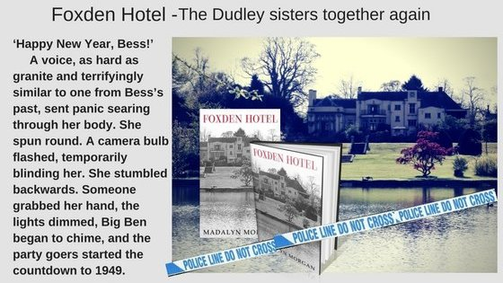 """Foxden Hotel  #saga #thriller #revenge #hate #love   """"Happy New Year, Bess!"""" A voice from the past, one that Bess prayed she would never hear again, hissed. She turned around. He had gone. #paperback #Kindle #KindleUnlimited"""