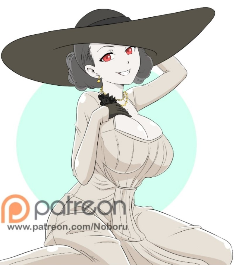 """""""Lady Dimitrescu""""  😊😊🐻   visit my patreon for more content NSFW    #LadyDimitrescu #patreoncreator #ResidentEvilVillage"""