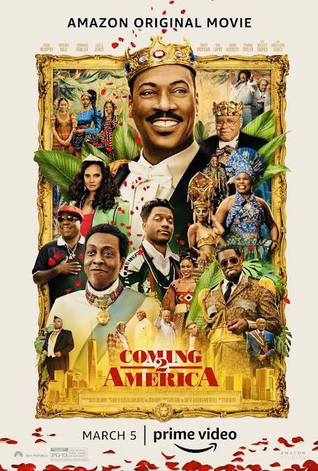 I enjoyed #Coming2America lots of references to the original classic & I loved @EnVogueMusic #SaltNPepa #gladysknight #WesleySnipes & the return of #sexualchocolate were my highlights. Good fun! 😆