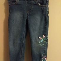 Excited to share the latest addition to my #etsy shop: Embroidered Dragonfly Toddler Jeans  #baby #toddler #kids #jeans #bottoms #pants #dragonfly #cute #stylish