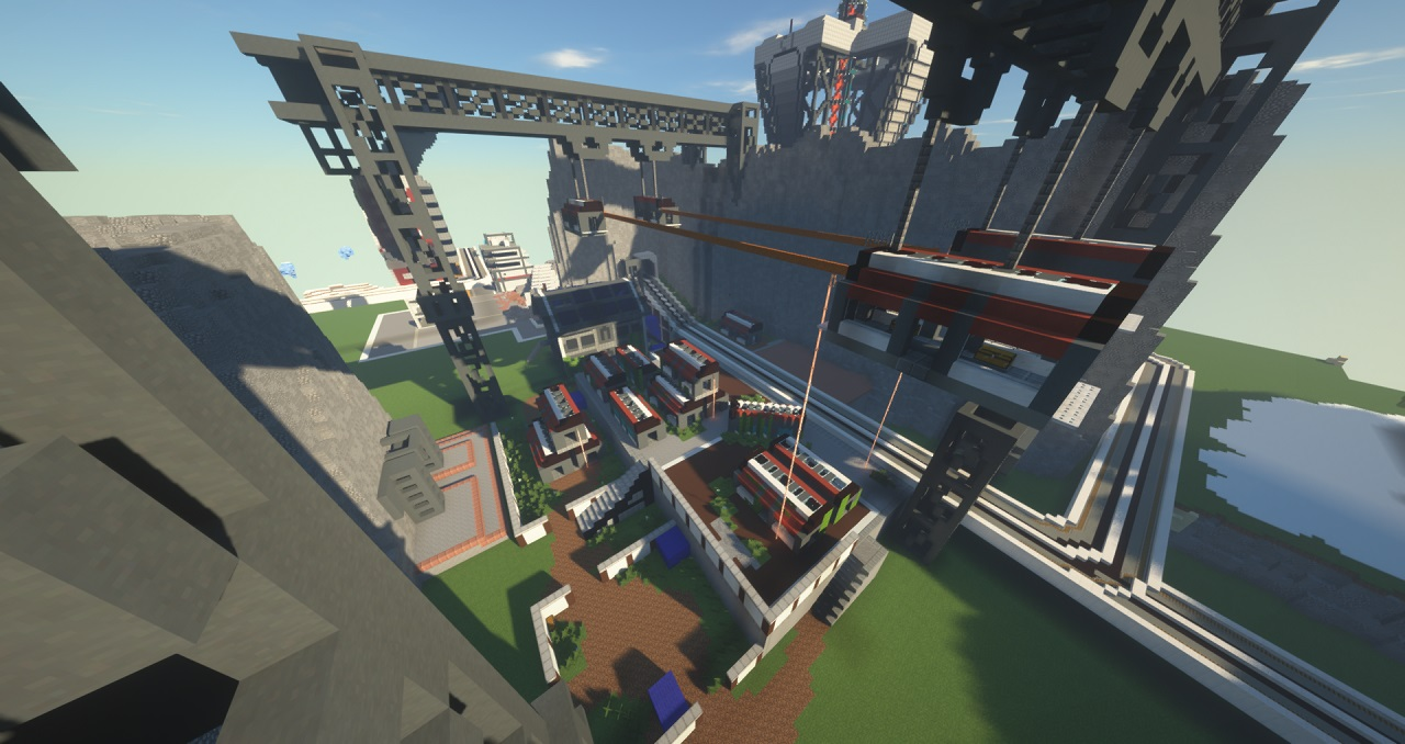 """Apex Legends News on Twitter: """"This is incredible One dedicated #ApexLegends  fan recreated World's Edge in Minecraft, as well as Wraith's portal and the  R-99: https://t.co/ixAeFYA985 (via u/kurobekuro)… https://t.co/tS12OM1qd0"""""""