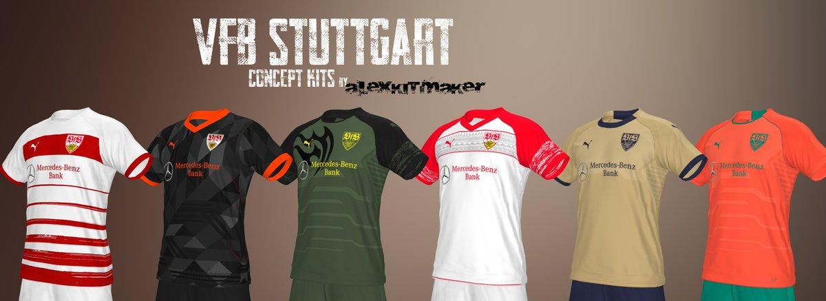 Pack Kits #VfB #Stuttgart a petición de mi amigo @Stutt23   link de descarga:   @VirtuaRED @BestPESKits @kitsEfootball20 #puma #kitfantasy #conceptkit #conceptdesign #PES2020 #eFootballPES2021 #Bundesliga #eFootballPES2020 #kitfantasy #PES2021 #jungundwild