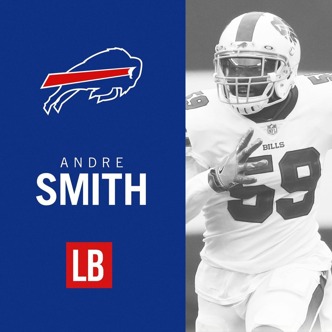 #Buffalo #Bills: We've signed LB Andre Smith to a two-year deal! ##BillsMafia...       #AmericanFootballConference #AmericanFootballConferenceEastDivision #BuffaloBills #Football #NationalFootballLeague #NewYork #NFL #OrchardPark