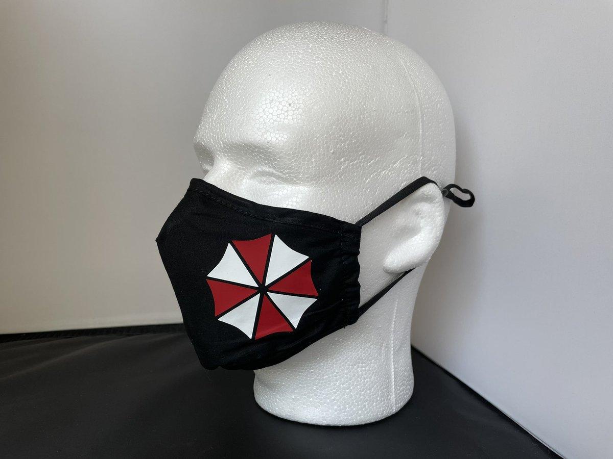 Order a mask from me. 😘 #ResidentEvilVillage #ResidentEvil #REBHFun #umbrella