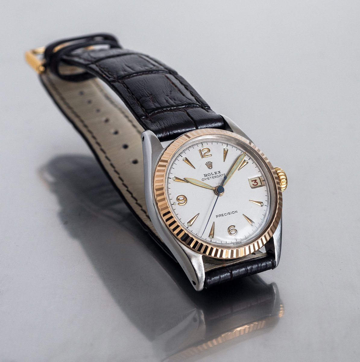 test ツイッターメディア - <Today's Vintage Wrist>  A very attractive vintage Rolex OysterDate Precision dating to the year 1952.   https://t.co/uBhki21GvW  #Rolex #ロレックス #fttts_tokyo #Vintagewatch #watch #vintage #watches #時計 #1952 #Oysterdate Precision https://t.co/VwsUsRQxVK