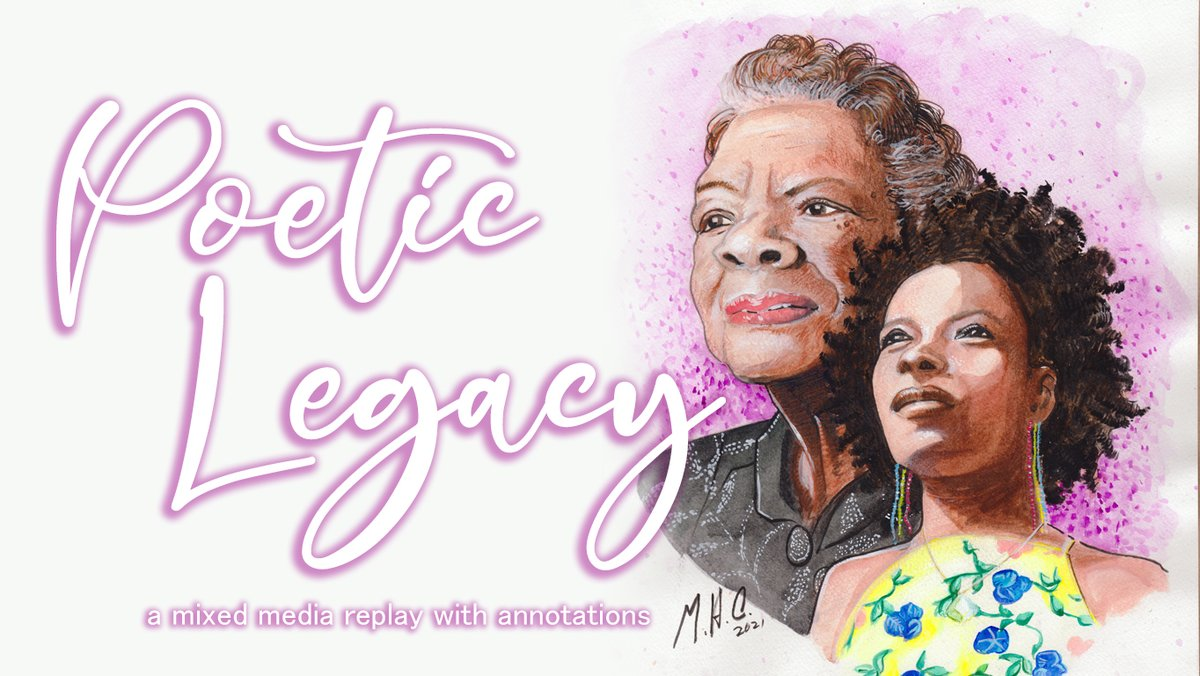 Annotated process replay is up at: https://t.co/kCpJGUPjKJ  Apologies for the repost, had to do some edits to the annotations. #MayaAngelou #AmandaGorman https://t.co/3UB9lp0l0R