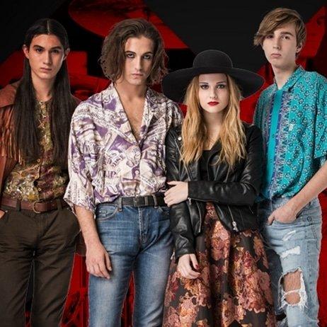 La banda @thisismaneskin gana el festival de @SanremoRai 2021 #eurovision #italy #italia #eurovision2021 #rotterdam #openup #new #song #music #single #maneskin #sanremo #Sanremo2021 #sanremo21
