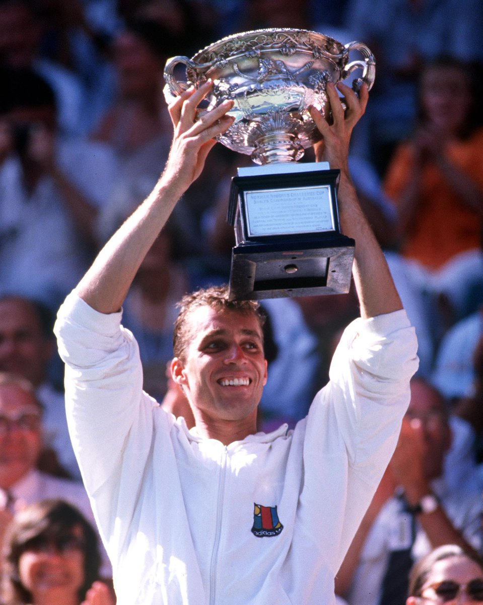 🏆 1989  🏆 1990  Happy birthday, Ivan Lendl ✌️ #AusOpen
