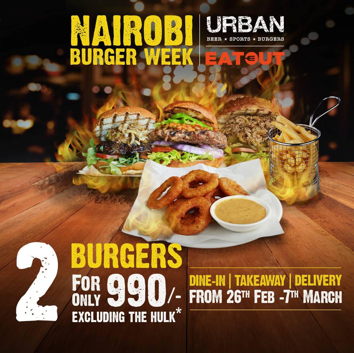 It's the last day of #NairobiBurgerWeek2021! Make it count! @urbanburgerke  #WestgateExperience https://t.co/2O5e6jNtLb