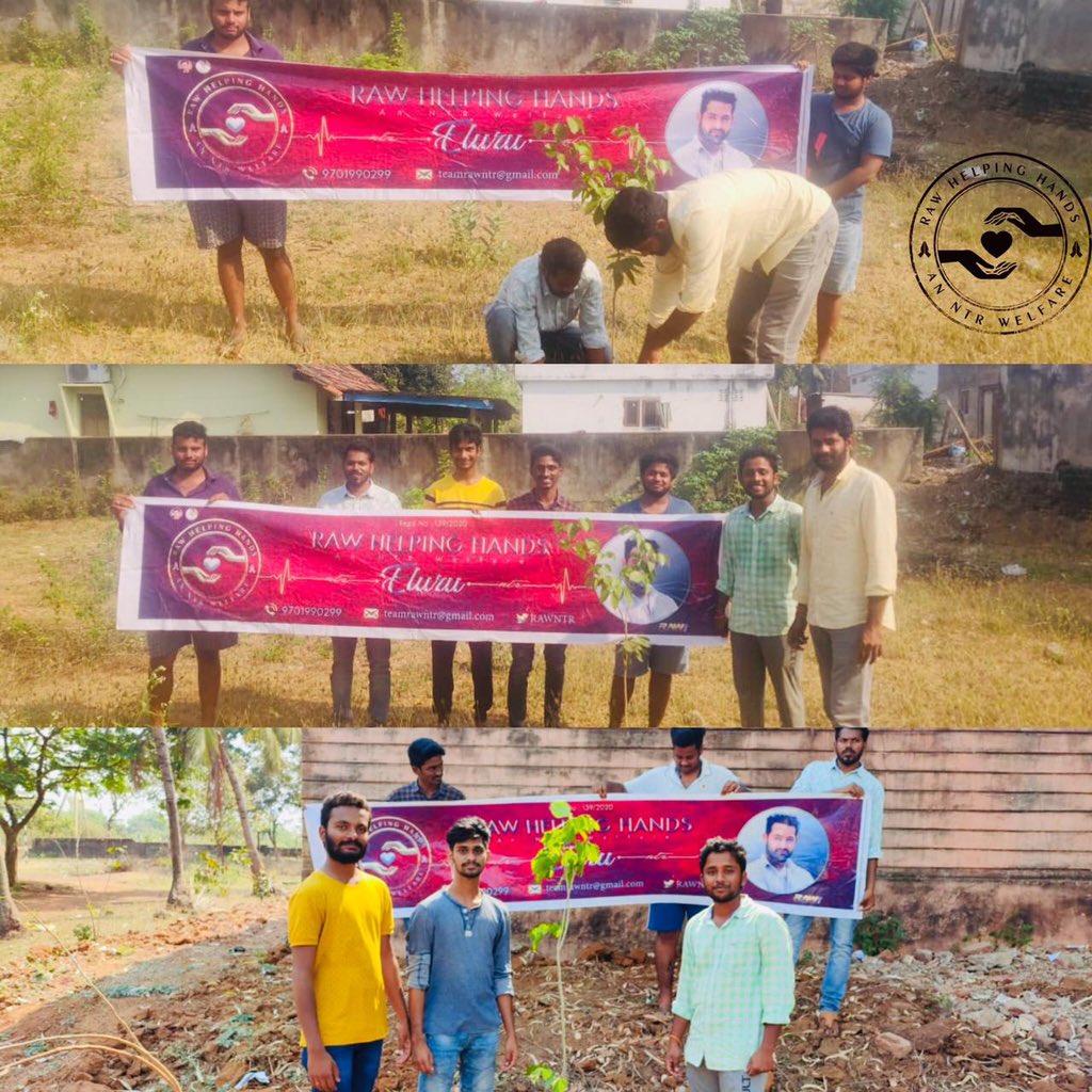 #TarakForNaTuRe 🌱 ELURU Dubacherla | Ghantavari Gudem An #NTR Welfare