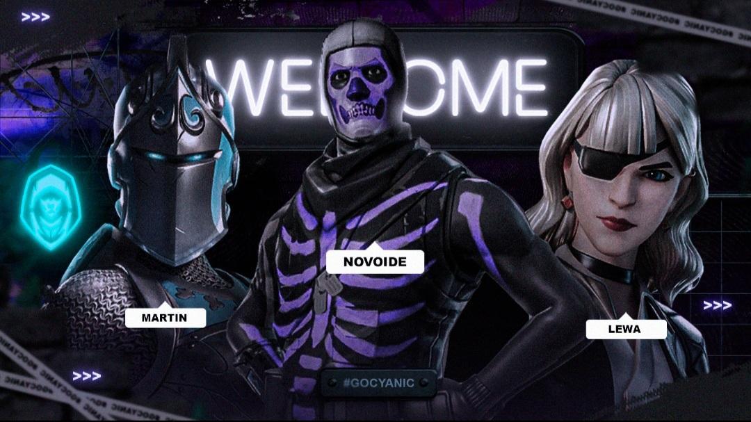 ¡𝐁𝐈𝐄𝐍𝐕𝐄𝐍𝐈𝐃𝐎𝐒 𝐀 𝐋𝐀 𝐅𝐀𝐌𝐈𝐋𝐈𝐀! 💙  Es un placer presentarles a nuestros tres nuevos miembros de la división de #Fortnite de la región de BR. 🇧🇷  ◽ @MarTinFnnn ◽ @novoide2 ◽ @LewaFn   ¡Sabemos que dejarán el nombre de #TeamCyanic en lo más alto! 😌
