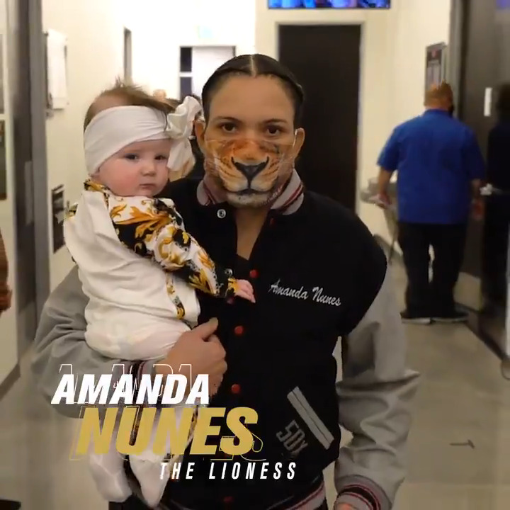 Lioness on the prowl. 🦁  🏆 @Amanda_Leoa vs. 🇦🇺 @MeganA_MMA for the 145 throne! #UFC259 https://t.co/Uj8c59c7N3