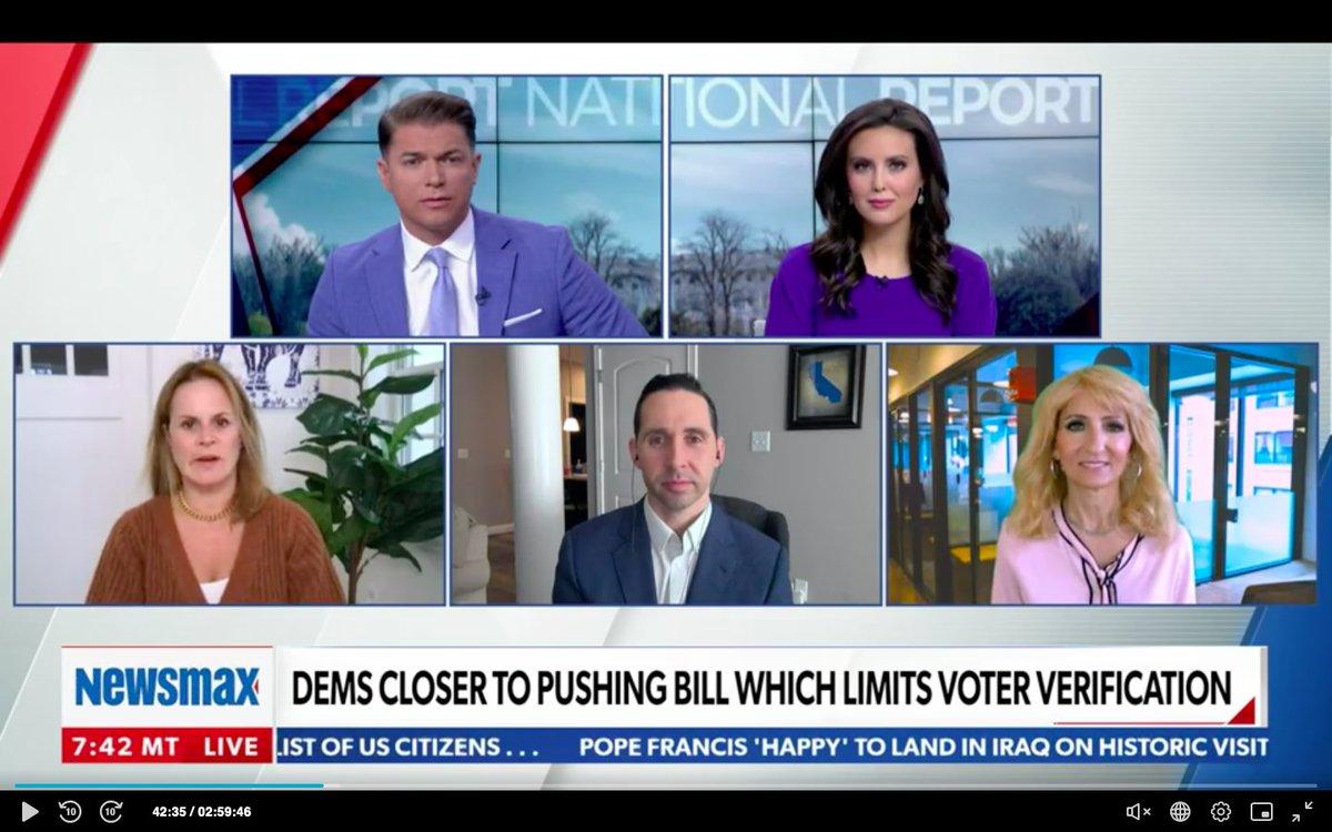 #FridayThoughts politically speaking on @newsmax with @ShaunKraisman @EmmaRechenberg @JenniferNassour  @TheThomasGuide