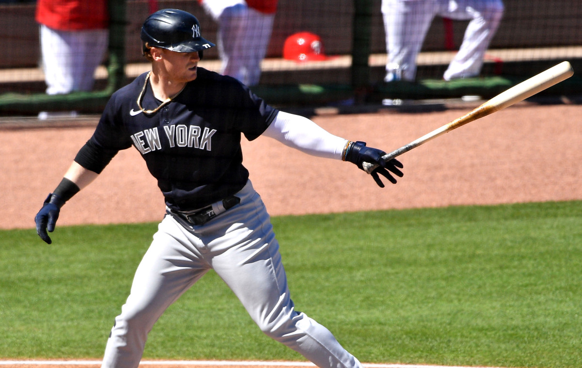 Yankees' Clint Frazier belts first homer this spring training