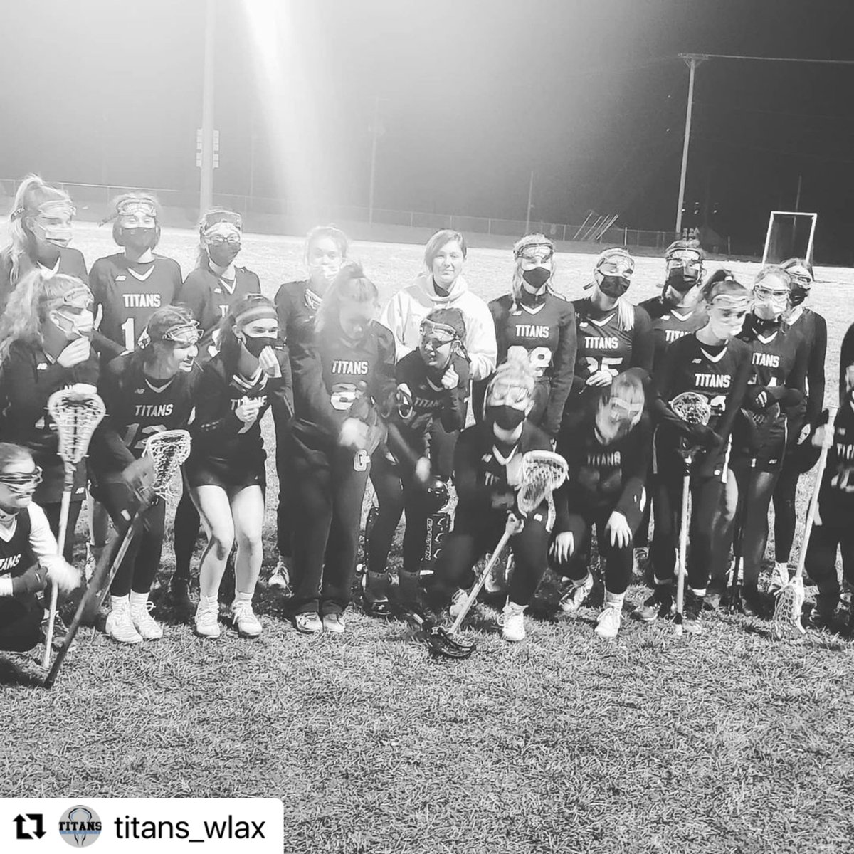 #Repost @Titans_wlax  ・・・ Great night of lacrosse for the Lady Titans!  Got the win against E-town (15-8). Came up a little short in the 2nd game against Central Hardin (5-10), but the team played well. #GLAX #GoTitans