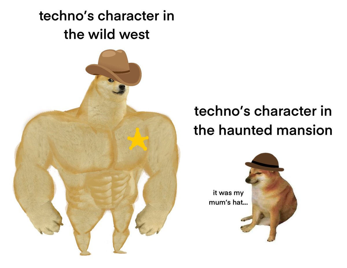 techno's tales from the smp characters #TalesFromTheSMP