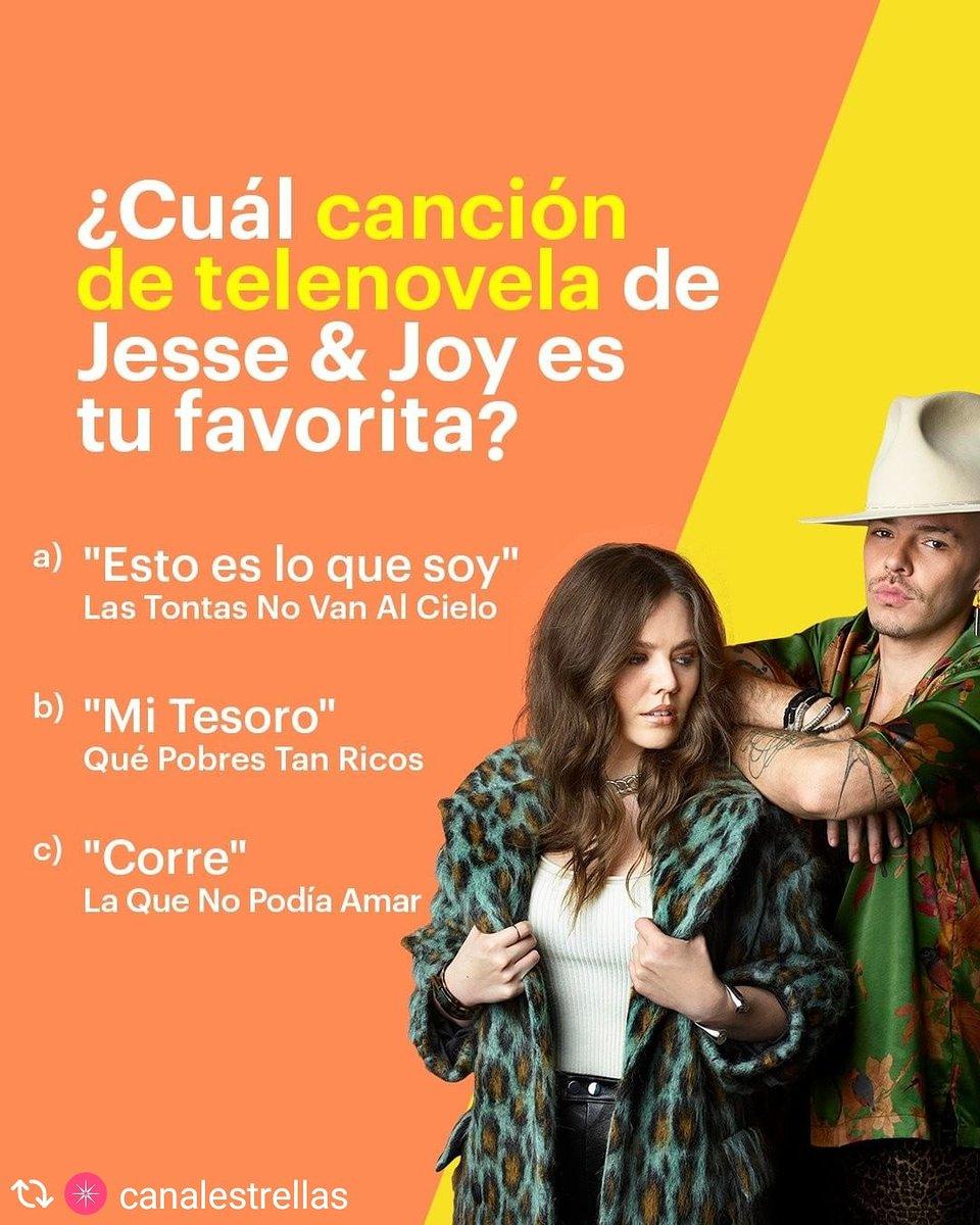👈Canal Las Estrellas👉Algunas de nuestras historias de amor favoritas son imposibles de imaginar sin las canciones más románticas de @jesseyjoy acompañádolas. ¿Cuál de estas ha sido tu preferida? 🎶💖   #Repost Vía @canalestrellas @dmilentetv #DMiLenteTV