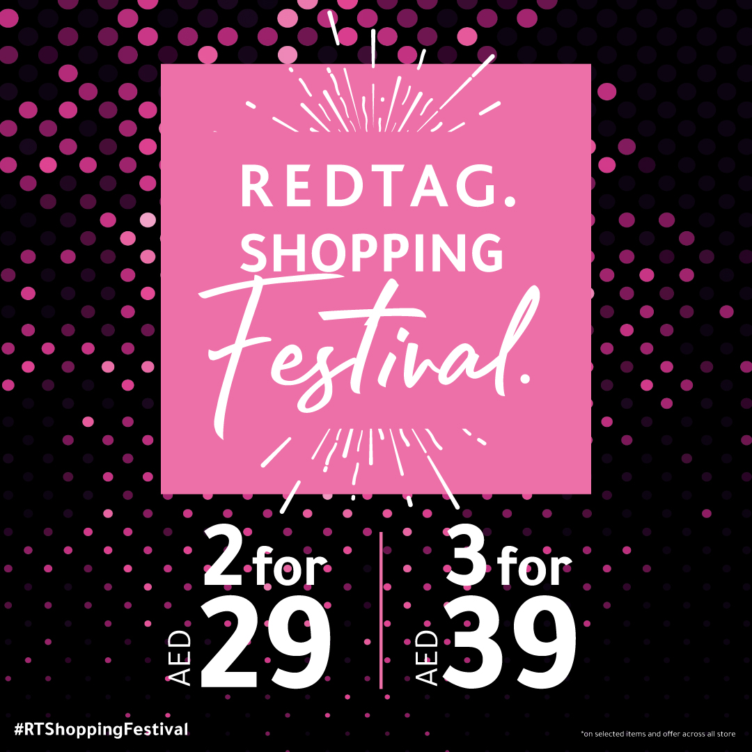 Latest Spring wear, homeware and the perfect deal. That's what makes us the best shopping destination.  Get  2 items for AED 29 and 3 items for AED 39 only at REDTAG.   @redtagfashion #REDATG #SpringWear #Collection #Dalmamall #InAbuDhabi