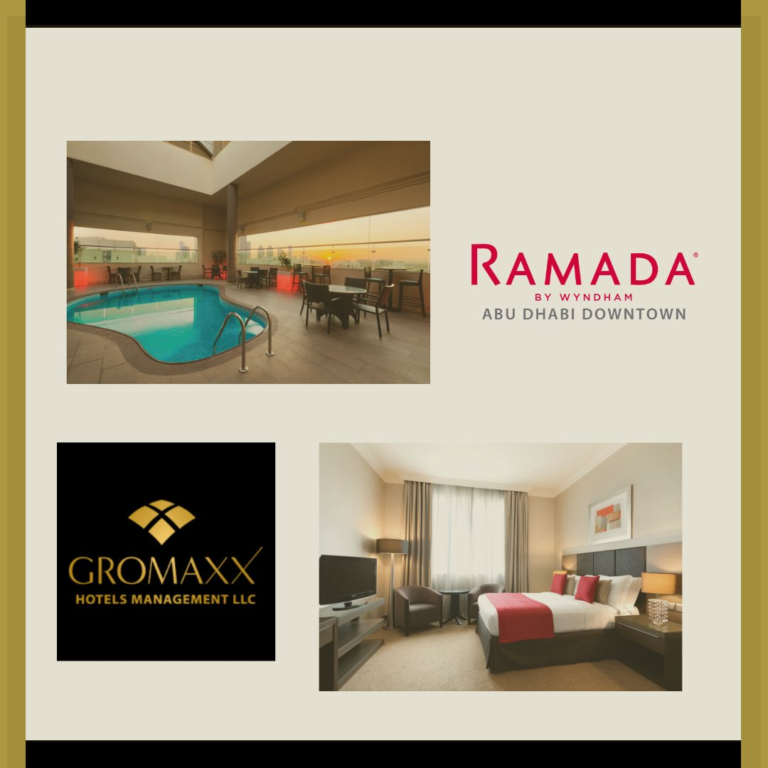 #ramadadowntownabudhabi #ramadabywyndham #besthotels #inabudhabi #visitabudhabi #gromaxxae
