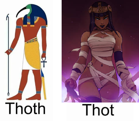 Know the Difference Between Egyptian Thoths.   Know the Difference Between Egyptian Thoths #humour #funny #meme