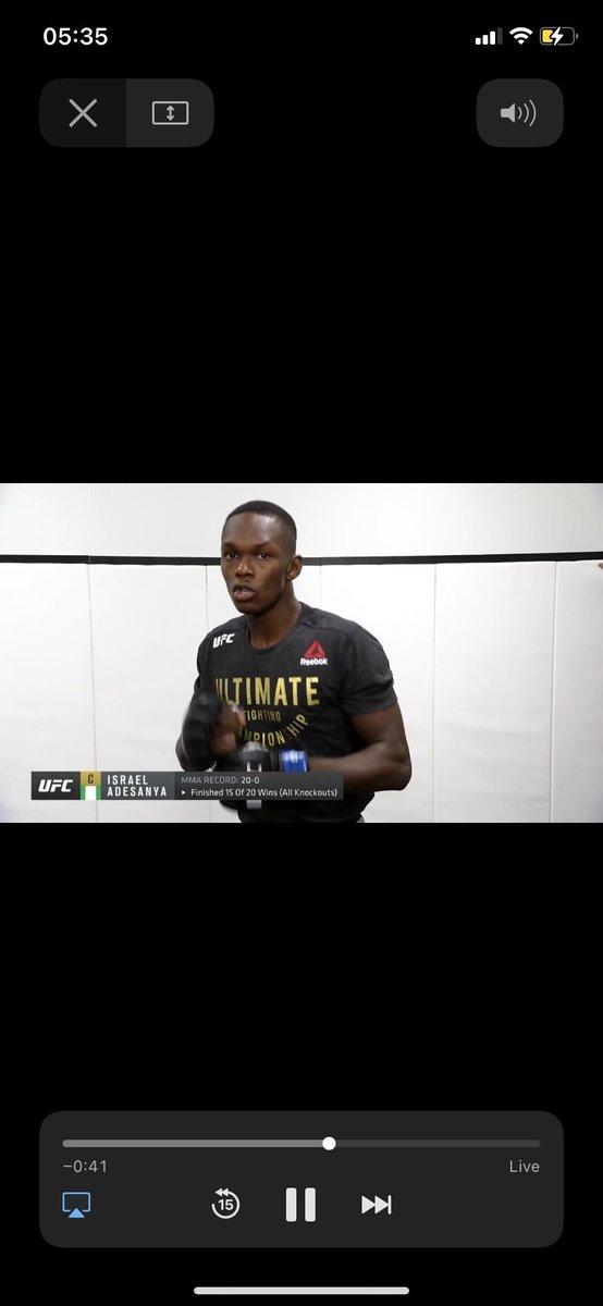 i'm watching an illegal stream rn #UFC259 #UFC @danawhite #Mcgregor #Adesanya #illegalstream #cry #lol