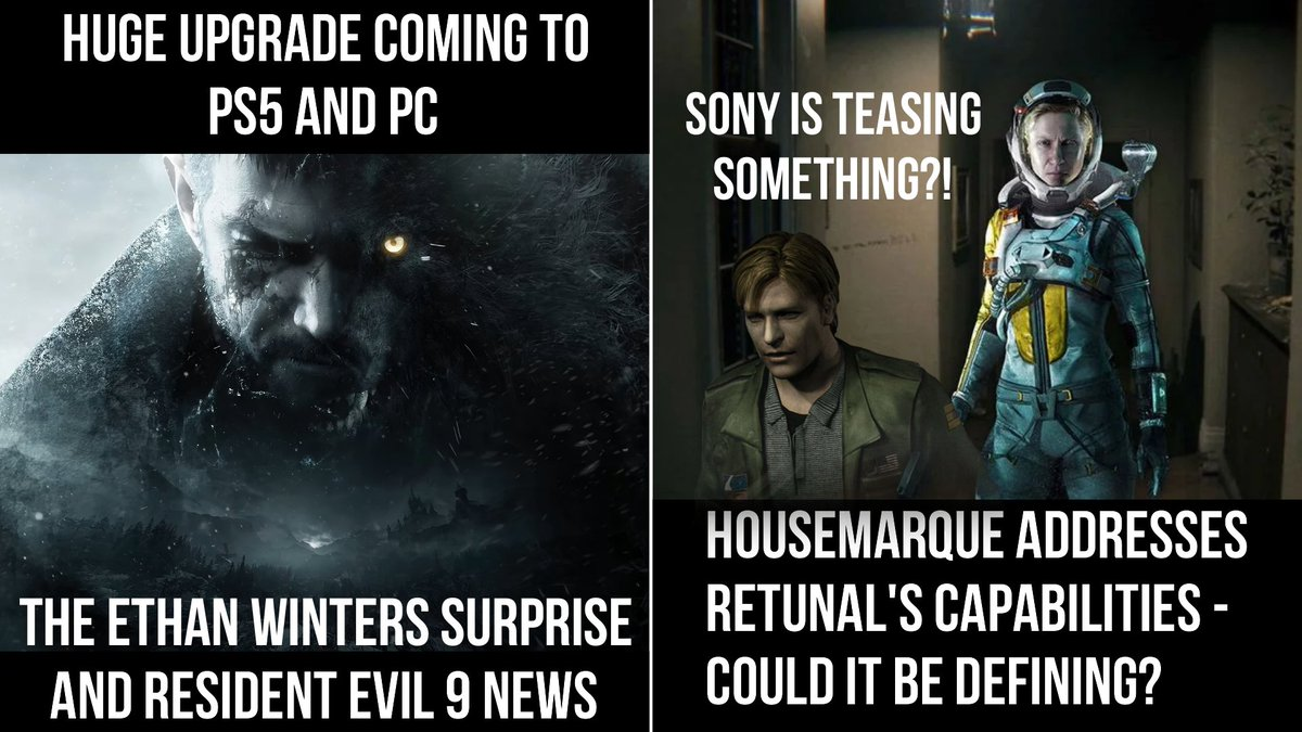 Resident Evil: Village Getting A Major Upgrade In PS5 And PC | Returnal Discussion And Sony's Tease #PlayStation #PlayStation5 #PS5 #residentevil9 #ResidentEvilVillage #AMD #Returnal #sony #gamedev #gamingnews  Watch: