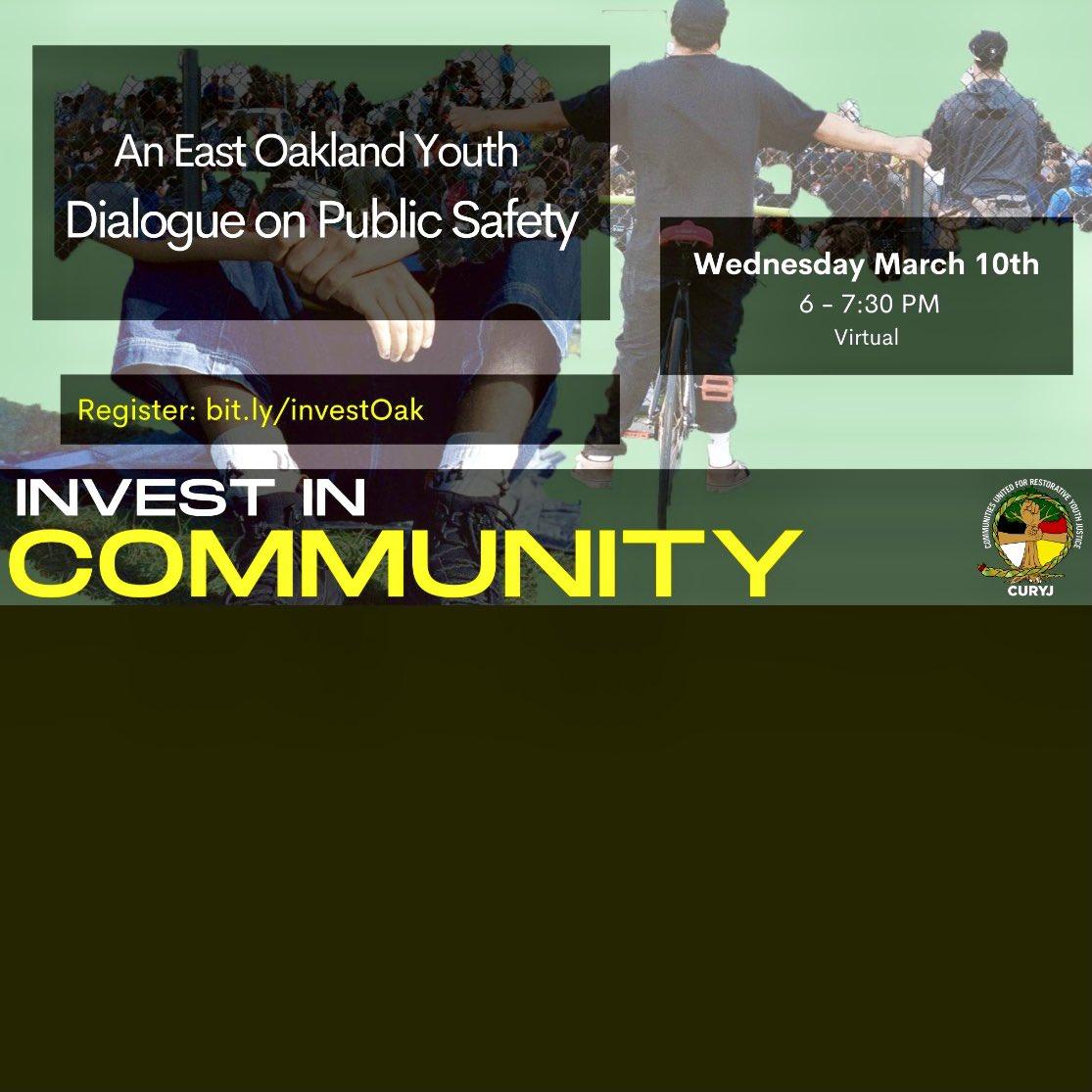 #YouthVoice #Oakland