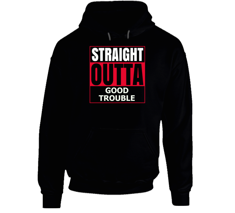 Good Trouble Hoodie selling at $20.99 🤯 by Tshirtgang ⏩  🚀 Selling out fast! 🚀#TBT #weekendvibes #Deals
