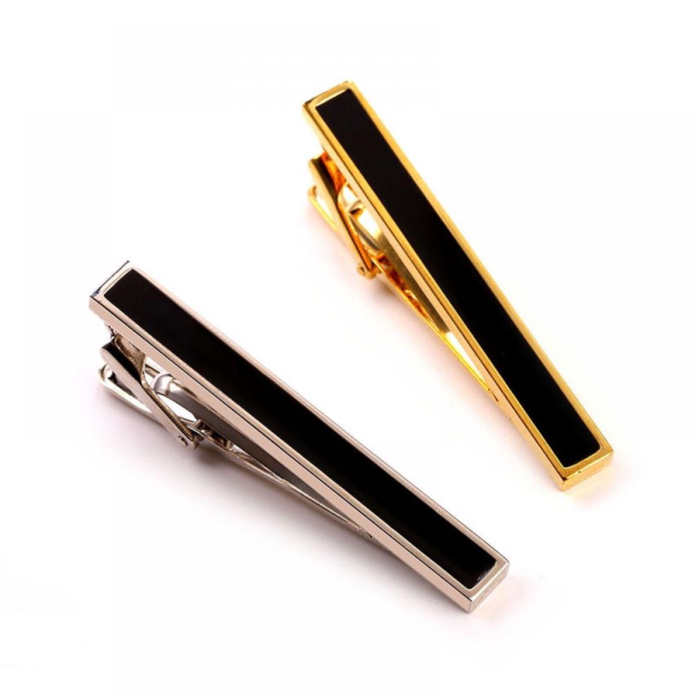 #fashion #style Elegant Enamel-Decorated Men's Tie Clip