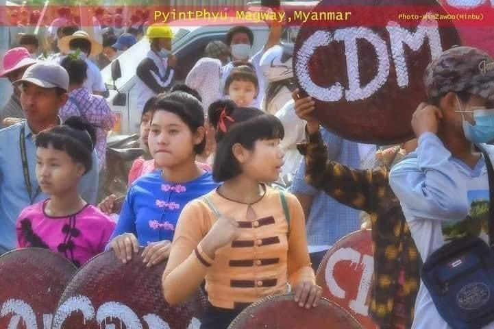 San Yit Wine Village ,Pyintphyu ,Magway, Myanmar.🇲🇲🇲🇲🇲🇲    #Feb23Coup🇲🇲 #WhatsHappeningInMyanmar https://t.co/RWFO3M5jbS https://t.co/YA3gh2RuTw