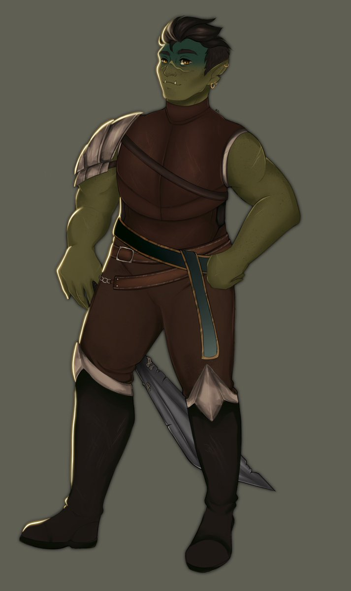 recently started listening to critical role and i can't believe i haven't found this before! fjord is one of my favs 💪 #criticalrolefanart #fjordcriticalrole #CriticalRoleArt #criticalrole