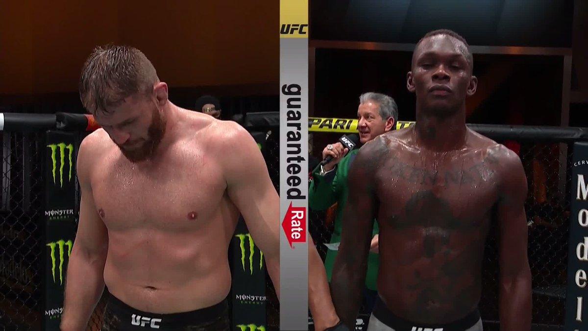 #AndStill  @JanBlachowicz retiene el título de las 205 libras y quita el invicto a Adesanya #UFC259