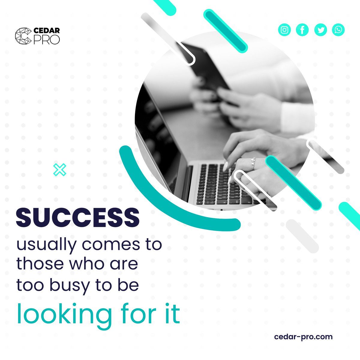Success usually comes to those who are  too busy to be looking for it  #success #motivation #inspiration #love #life #motivationalquotes #quotes #mindset #believe #goals #lifestyle #positivevibes #happiness #entrepreneur #instagood #selflove #instagram